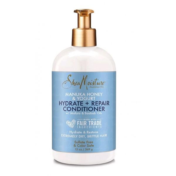 SHEA MOISTURE Après-shampoing réparateur MANUKA YOGURT 369g (Conditioner)