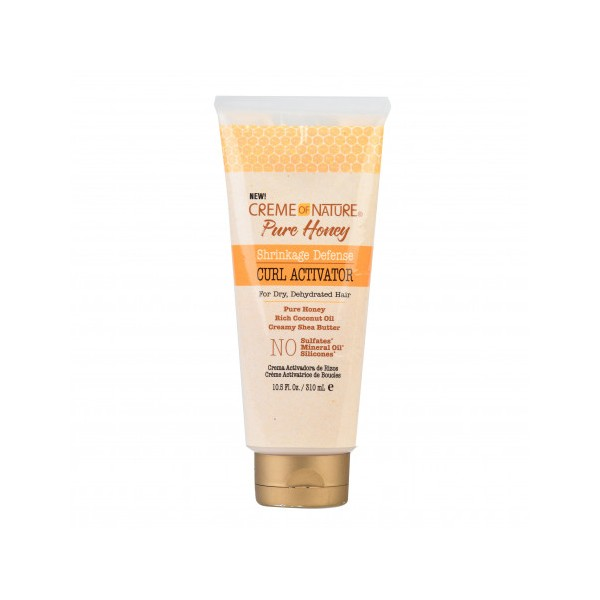 CREME OF NATURE Crème activatrice de boucles PURE HONEY 310ml
