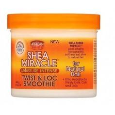 Crème hydratation intense TWIST & LOC Smoothie SHEA MIRACLE 340g