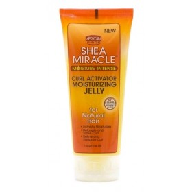 AFRICAN PRIDE Curl Activator Moisturizing Jelly SHEA MIRACLE Intense Moisturizing Gel 170g