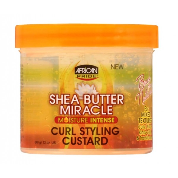 African Pride Gel définition boucles KARITE (Shea Butter Miracle) 340g