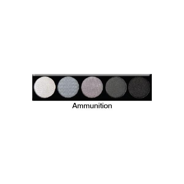 Palette 5 fards à paupières Ammunition