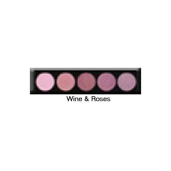 Palette 5 fards à paupières Wine & Roses