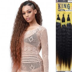 BOBBI BOSS natte 3X King Tips WET & WAVY STYLE 28""