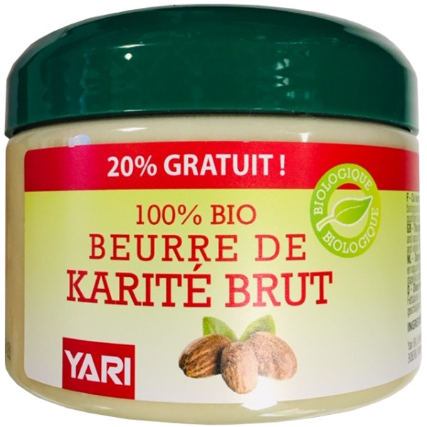 YARI Beurre de Karité 100% Bio 300ml