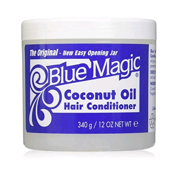 BLUE MAGIC Brillantine à l'huile de COCO 340g