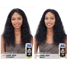 MODEL Brazilian wig WET & WAVY LOOSE DEEP (Lace Front)
