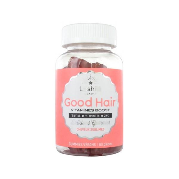 LASHILE BEAUTY Vitamines BOOST pour cheveux GOOD HAIR (Cure 1 mois)
