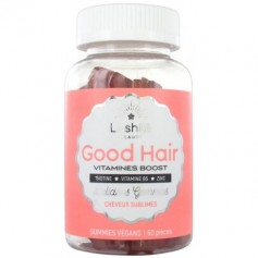 Vitamines BOOST pour CHEVEUX GOOD HAIR (Cure 1 mois)