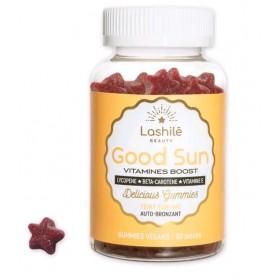 LASHILE BEAUTY Vitamines BOOST pour le TEINT PARFAIT GOOD SUN (Cure 1 mois)