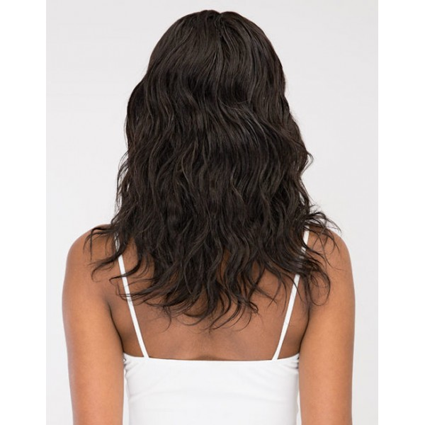 JANET perruque NATURAL 18'' (Deep Part Swiss Lace)