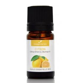 LA COMPAGNIE DES SENSES Organic LEMON Essential Oil 5ml
