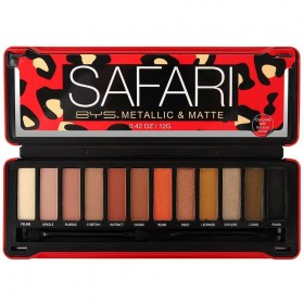 BE YOUR SELF MAQUILLAGE Palette Make-Up Artist SAFARI 12g