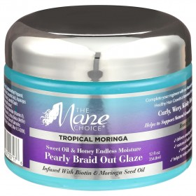 THE MANE CHOICE Curl Definition Jelly BIOTIN and MORINGA 354ml (Braid Out Glaze)