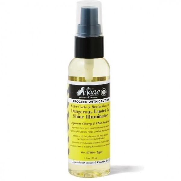 THE MANE CHOICE Sérum capillaire illuminateur CERISE et GRAINES DE CHIA 59ml (Killer Curls)