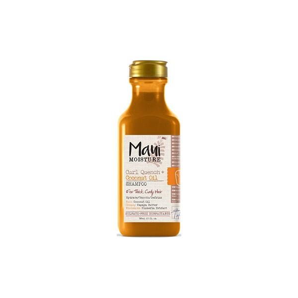 MAUI MOISTURE Shampoing HUILE DE COCO 385ml (Curl Quench)