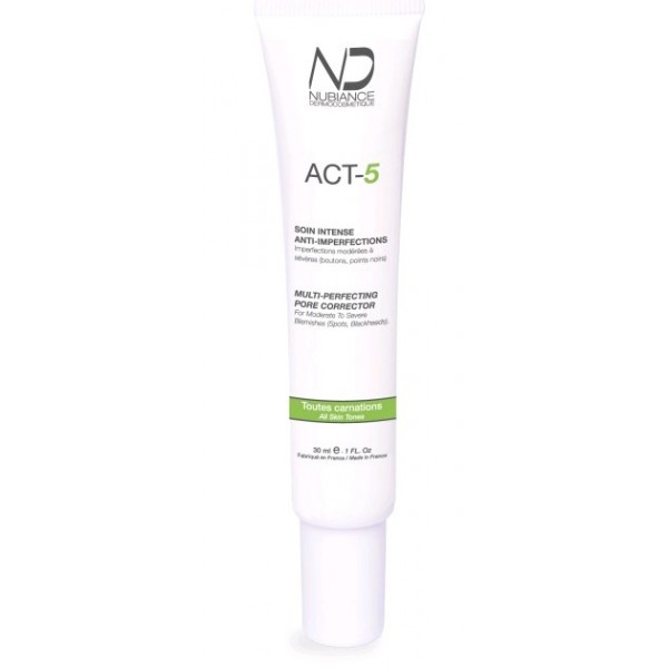 NUBIANCE Soin intense anti-imperfections ACT-5 30ml
