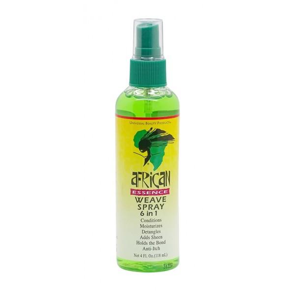 AFRICAN ESSENCE Spray pour tissage 6 en 1 118ml (Weave Spray)
