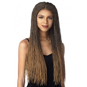 SENSAS braided wig MICRO TWIST (Swiss Lace 4x4)