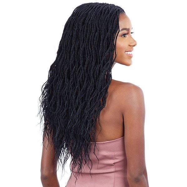 EQUAL perruque nattée WAVY MILLION TWIST (Braided Lace Wig)