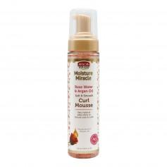 Mousse capillaire spéciale boucles ROSE WATER & ARGAN OIL 251ml