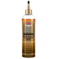 Rinçage nettoyant RICIN, COCO et MENTHE POIVRÉE 355ml (Braid & Scalp Cleansing Rinse)