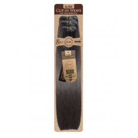 JANET extensions with clips ALIBA CLIPIN WEAVE 18'' 8pcs