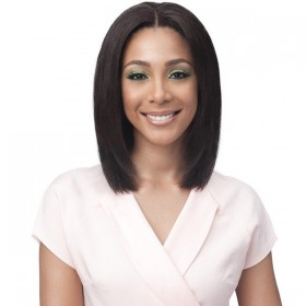 BOBBI BOSS perruque BNGLWST16 STRAIGHT 16'' (Whole Lace)