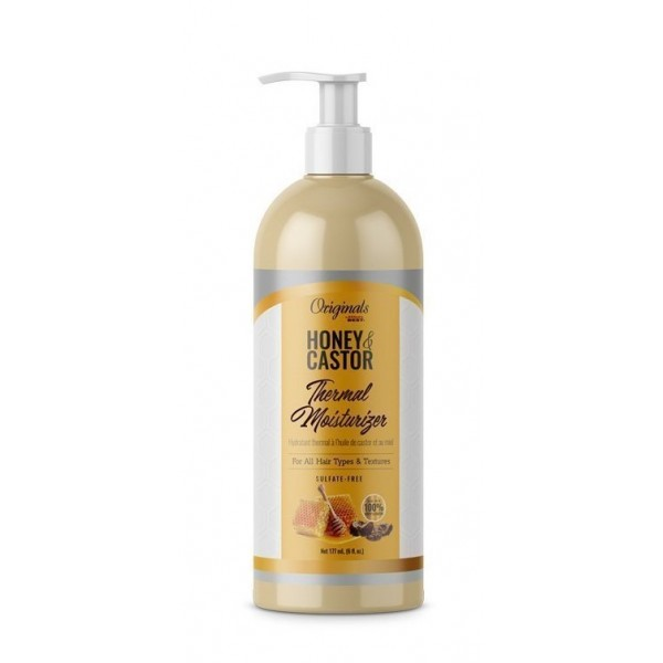 AFRICA'S BEST Crème thermo-protectrice MIEL & RICIN 177ml (Thermal Moisturizer)
