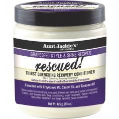 AUNT JACKIE'S Après-shampooing réparateur hydratant AVOCAT & TAMANU 426g (Rescued)