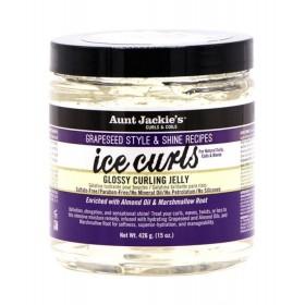 AUNT JACKIE'S Gel pour boucles HUILE D'AMANDE & GUIMAUVE 426g (Ice Curls)
