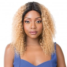 IT'S A WIG perruque WET N WAVY BOHEMIAN WAVE (Swiss Lace)