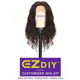 JANET Complete wig making kit BODY 3PCS + 13X4 LACE TEMPLE
