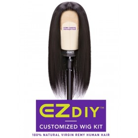 JANET Complete kit for STRAIGHT 3PCS wig + 13X4 LACE TEMPLE