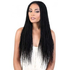 MOTOWN DP MICRO braided wig (Deep Lace Part)