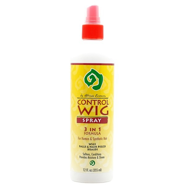 AFRICAN ESSENCE Spray pour perruque 3 en 1 355ml (Control Wig)