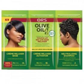 ORS Pack retouche défrisage à l'huile d'olive (Formule Normale)