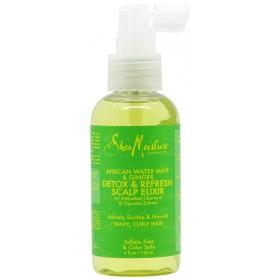 SHEA MOISTURE Elixir Menthe, Gingembre & Charbon 118ml (Detox & Refresh)