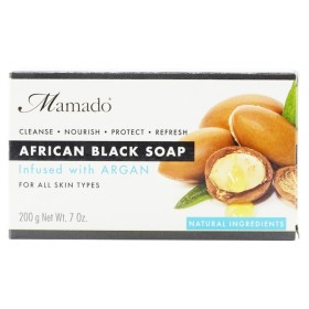 MAMADO African Black Soap ARGAN 200g