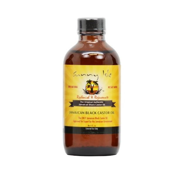 SUNNY ISLE Jamaican Black Castor Oil (huile de RICIN) 118.3ml