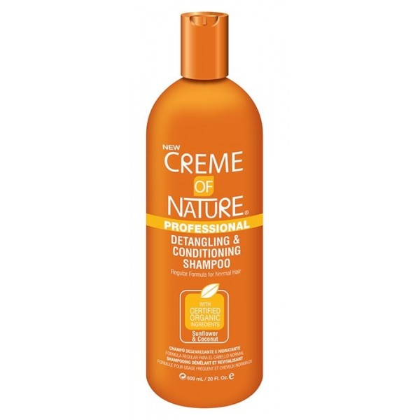 CREME OF NATURE Shampoing démêlant et revitalisant 946ml