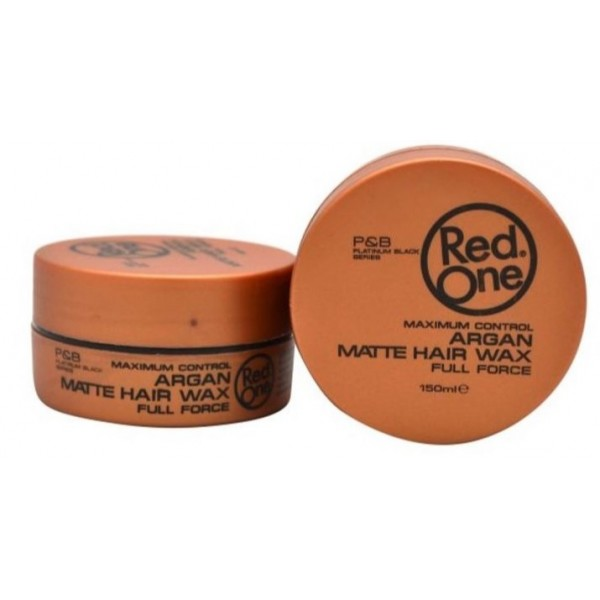 RED ONE Cire capillaire RED ONE ARGAN MATTE HAIR WAX 150ml