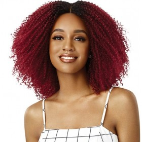 OUTRE perruque 4B CROWN CURLS (Swiss Lace Front)