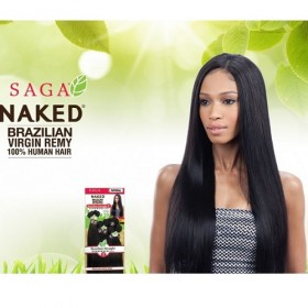 MILKYWAY Naked Brazilian weave STRAIGHT 7PCS