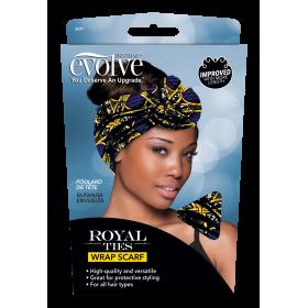 FIRSTLINE Headscarf ROYAL TIES WRAP SCARF (Evolve)