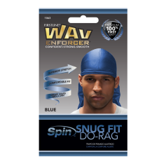 Bonnet bleu Durag SNUG FIT DO-RAG (Wav Enforcer)