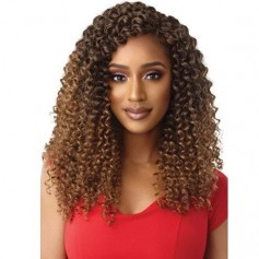 """OUTRE natte 3X NATURAL CURLY 14"""" (X Pression Loop)"""