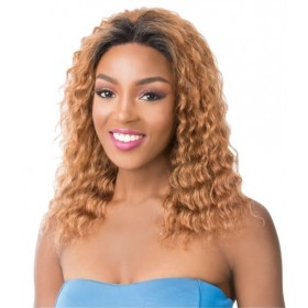 IT'S A WIG perruque WET & WAVY FRENCH DEEP WATER (Swiss Lace)