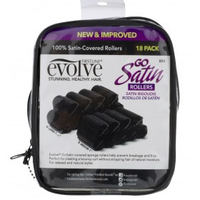 FIRSTLINE Satin curlers (Evolve)
