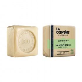 LA CORVETTE ORGANIC SOAP SOAP SOAP SOFT ALMOND 100g